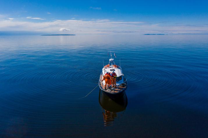 Еще много тайн и загадок скрывают воды Финского залива. Фото: Руслан Шамуков