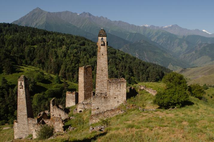 Считается, что башни Пялинга были выстроены зодчими рода Баркинхоевых. Фото: Ольга Ладыгина