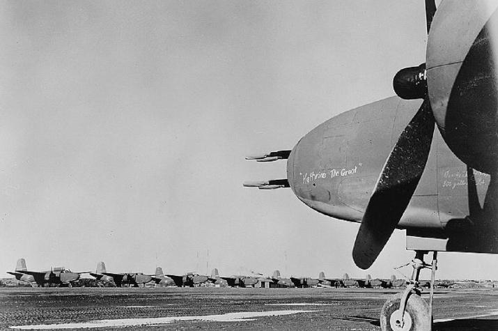 Долгий путь через всю Сибирь начинался на аэродромах Аляски. Фото: wikipedia.org/USAAF
