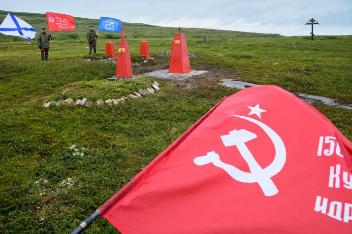 Новые памятники на острове Кильдин. Фото предоставлено участниками экспедиции