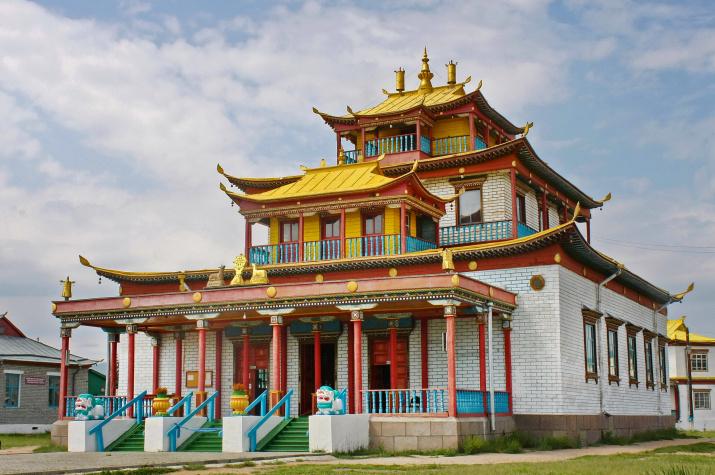 Главный храм Иволгинского дацана. Фото: Алексей Орлов