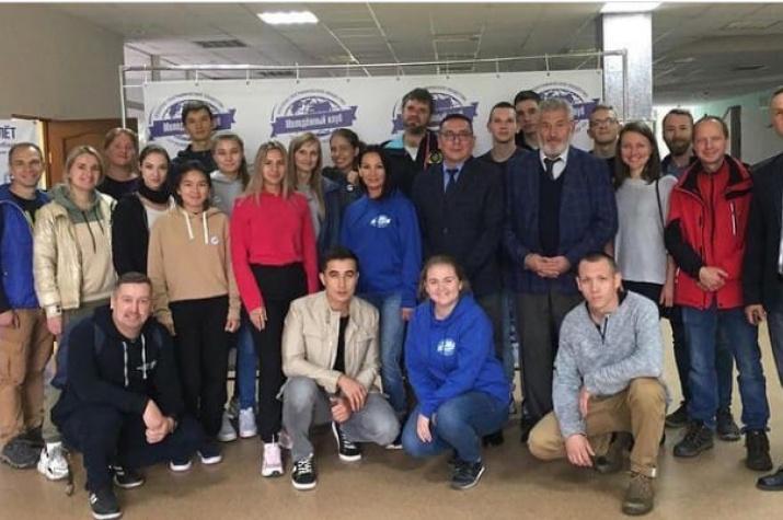Участники слёта на Байкале. Фото Молодежного клуба Иркутского отделения РГО