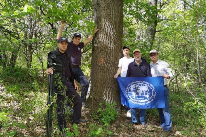Степная экспедиция РГО в биосферном заповеднике