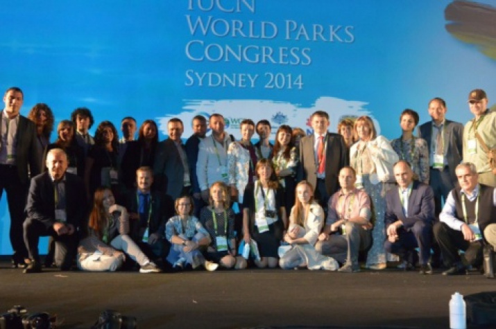 Russian delegation at the 6th IUCN World Parks Congress
