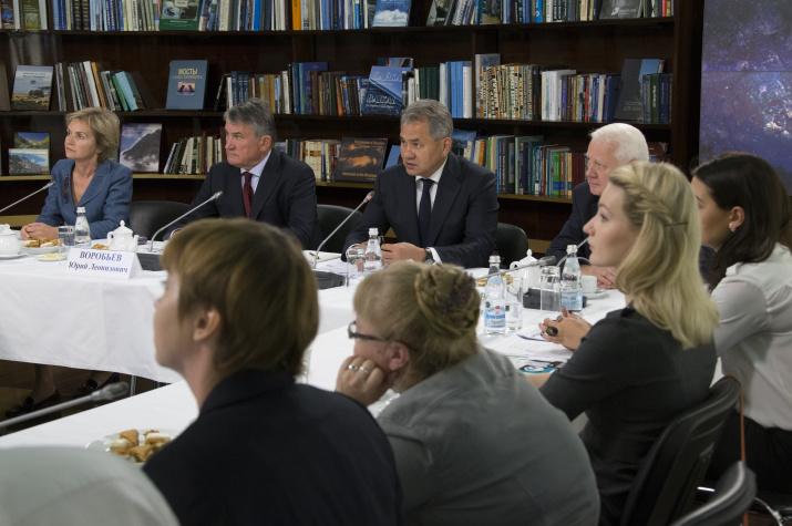 Заседание медиаклуба РГО. Фото: Вадим Савицкий