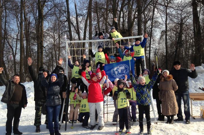 Военно-спортивный праздник на территории парка Ф.М. Апраксина