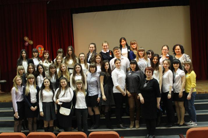 Участники форума - студенты факультета психолого-педагогического и специального образования СГУ