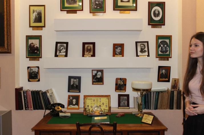 В музее В.И. Вернадского ТГТУ