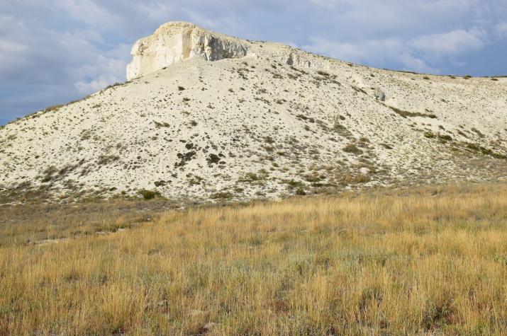 Верхнечибендинские меловые горы, урочище Турты