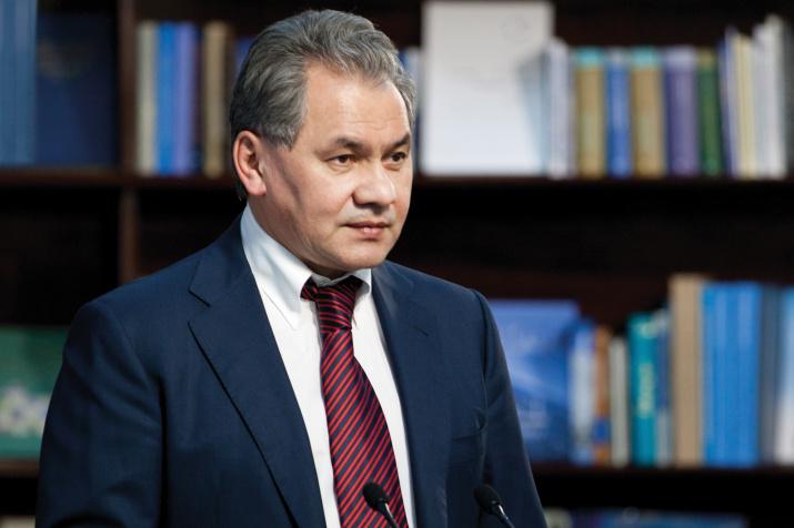 Президент РГО Сергей Шойгу. Фото: Ярослав Никитин