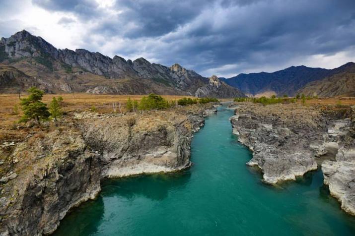 Река Катунь. Фото: А. Тырышкин