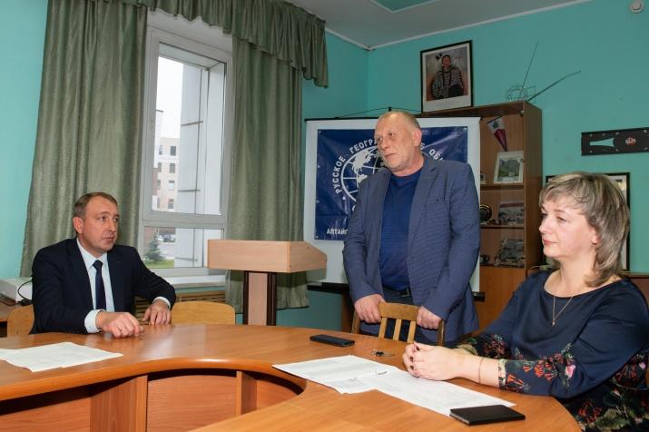 Выборы председателя Алтайского республиканского отделения РГО. Фото А. Тырышкин