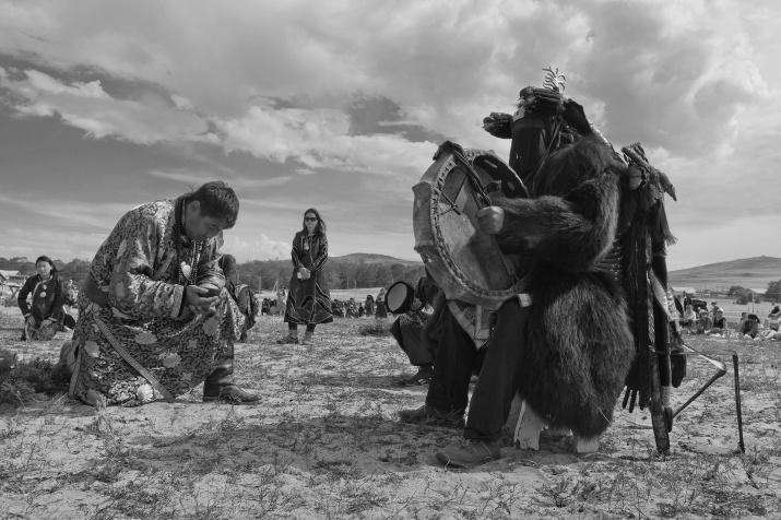 Байкальские шаманы. Фото: Алексей Трофимов