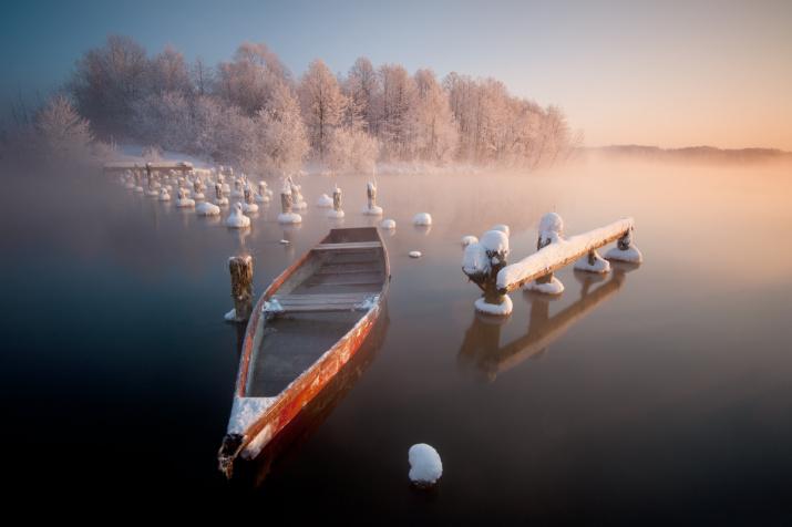 Утро на Святом озере. Фото: Владимир Романский
