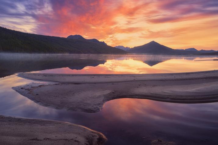 Огненный рассвет. Фото: Дмитрий Медянцев