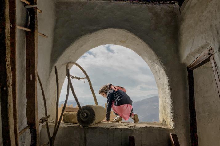 Дагестанская девочка. Фото: Диана Смыкова