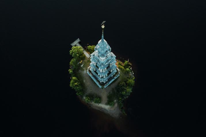 Калязинская колокольня. Фото: Алексей Никитин