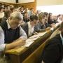 Участники второго Всероссийского географического диктанта