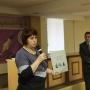 Е.Е. Морозова рассказала о проекте Зеленая Аллея Памяти