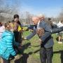 Активное участие в торжественном мероприятии приняли члены Мостовского районного отделения КРО РГО