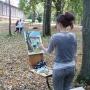 Пленэр студентов отделения живописи колледжа искусств имени К.Н. Игумнова