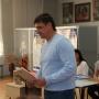 Игорь Пантюшов открыает мероприятие
