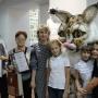 Победители конкурса рисунков и организаторы выставки