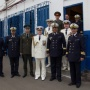 The meeting of the governance of the vessel and the Algerian naval officers` campaign