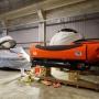 Обитаемые подводные аппараты РГО готовятся к погрузке. Фото предоставлено ЦПИ РГО