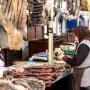 Сушенное мясо на рыночном прилавке. Фото предоставлено Дагестанским республиканским отделением РГО