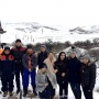 Участники Фестиваля ледолазов в Матласе. Фото предоставлено Дагестанским отделением РГО.