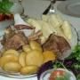 Аварский хинкал с пшеничными и кукурузными галушками. Фото предоставлено Дагестанским республиканским отделением РГО