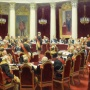 епин И.Е. Торжественное заседание Государственного Совета.