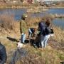 субботник по очистке береговой линии Алебашевской протоки