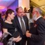 А.В.Орлов с супругой и А.Н.Чилингаров на церемонии вручения Премии Русского географического общества