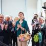 """Гости и участники открытия фотовыставки. Фото: Галерея искусств """"На Пушкинской"""""""