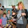 Лекция в школе с. Комиссарово. Фото: Дочевой Ю.Д.