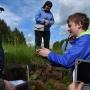 Изучение почв. Фото предоставлено КОО РГО