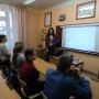 Активист МК РГО Позднякова Екатерина в Усвятской школе