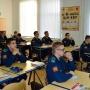 Кадеты на встрече, посвященной Дню российской науки