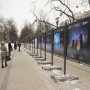 Exhibition on Chistoprudny Boulevard. Photo by the RGS press service