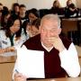 Студенты и преподаватели ОГПУ на познавательной акции. Фото: Владимира Беребина
