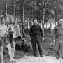 From the family album. The first Soviet cosmonauts Yuri Gagarin, Alexei Leonov, Boris Volynov and Viktor Gorbatko on a picnic in Dolgoprudny. Site: wikipedia.org