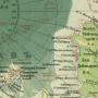 Фрагмент северной полярной карты (из атласов 1909 и 1916 годов издания).