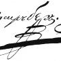 Автограф Ф. Берга. Военно-топографическая карта Берга. Источник - сайт wikipedia.org