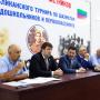 Отчетное выступление Мухтара Омарова. Фото предоставлено ДРО РГО