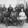 Участники Второй Тибетской экспедиции (1883–1885). Сидят (слева направо): П.К. Козлов, Н.М. Пржевальский, В.И. Роборовский. Фото из архива РГО