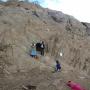 Паломники и волонтеры РГО посещают нишу Чурумал-бурганныг. Автор фото: Анна Никольская