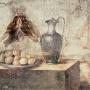 Примерно так мог выглядеть ужин древнего акринца. Фреска, Помпеи. Фото: wikipedia.org