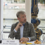 "Member of the jury of the All-Russian competition ""The Best Guide of Russia"" Valdis Pelsh. Photo: press service of the RGS"